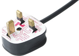 JF-06 UK ASTA BS1363 Rewirable Fuse Max 13A Plug Power Cord