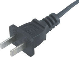 PBB-6 CCC 6A 250V  2 Prong Plug China Power Cord