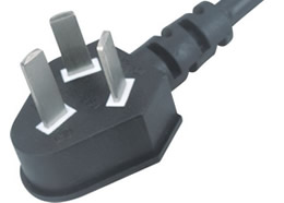 PSB-10A CCC 10A 250V  3 Prong Plug China Power Cord