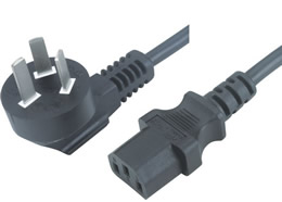 PSB-10 JF-05 10A 3PIN PLUG TO IEC 60320 C13 CONNECTOR