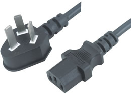 PSB-10A JF-05 10A 3PIN PLUG TO IEC 60320 C13 CONNECTOR